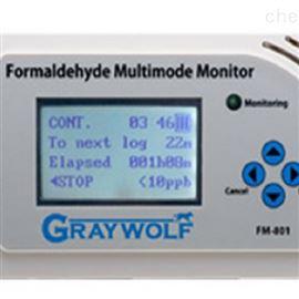 格雷沃夫FM80110ppb — 1,000 ppb多功能甲醛检测仪