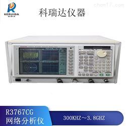 爱德万R3767CG网络分析仪全国回收