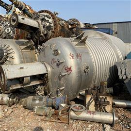 二手15吨不锈钢反应釜销售多台