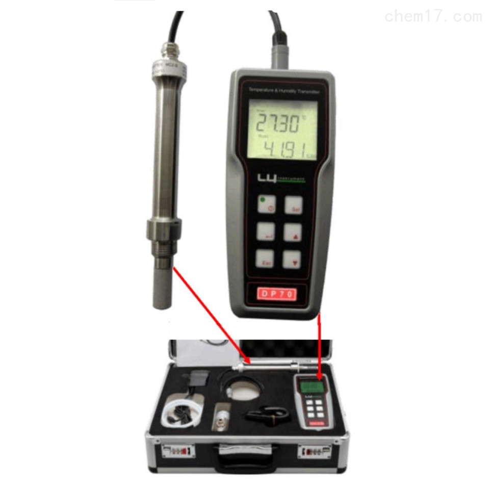 DP70手持表是瑞士ROTRONIC露点仪