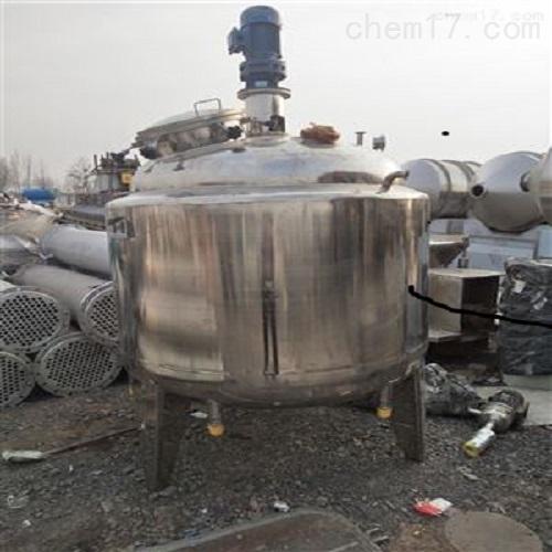 二手1吨不锈钢发酵罐现货供应