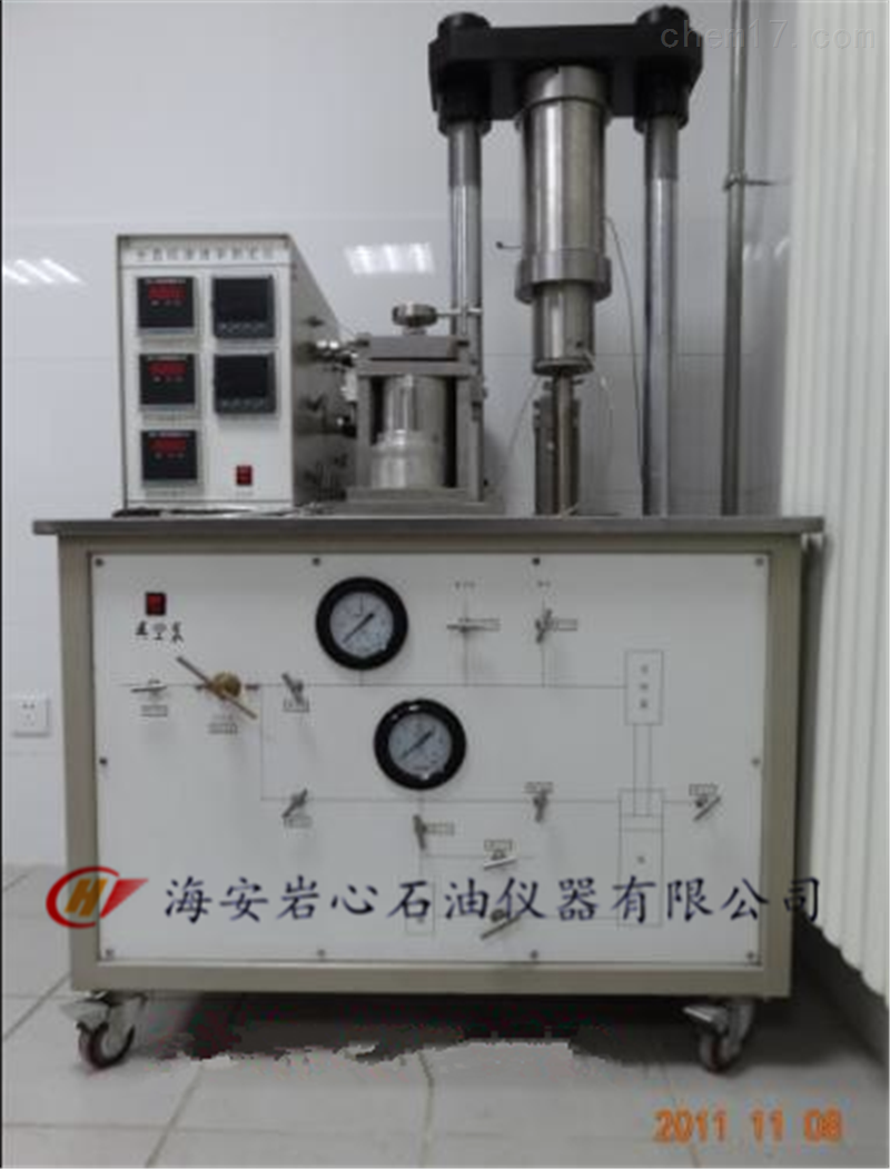 DYX-2型全直径岩心渗透率测定仪