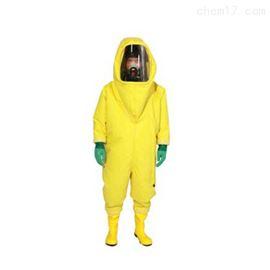 齐全供应连体式浓硫酸工厂气密型重型防化服