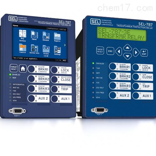 美国SEL-787系列变压器保护继电器