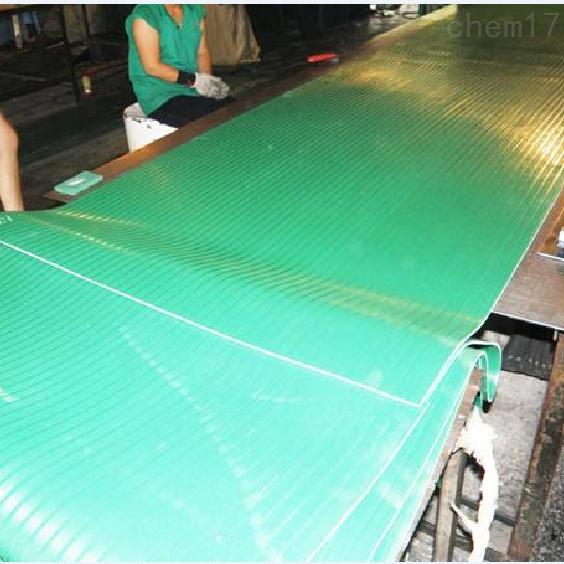 绿色高压绝缘胶垫
