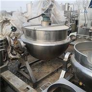 回收二手电加热搅拌夹层锅