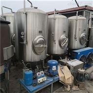出售600L二手一拖六啤酒发酵罐