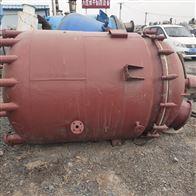 新到一批6吨二手不锈钢反应釜