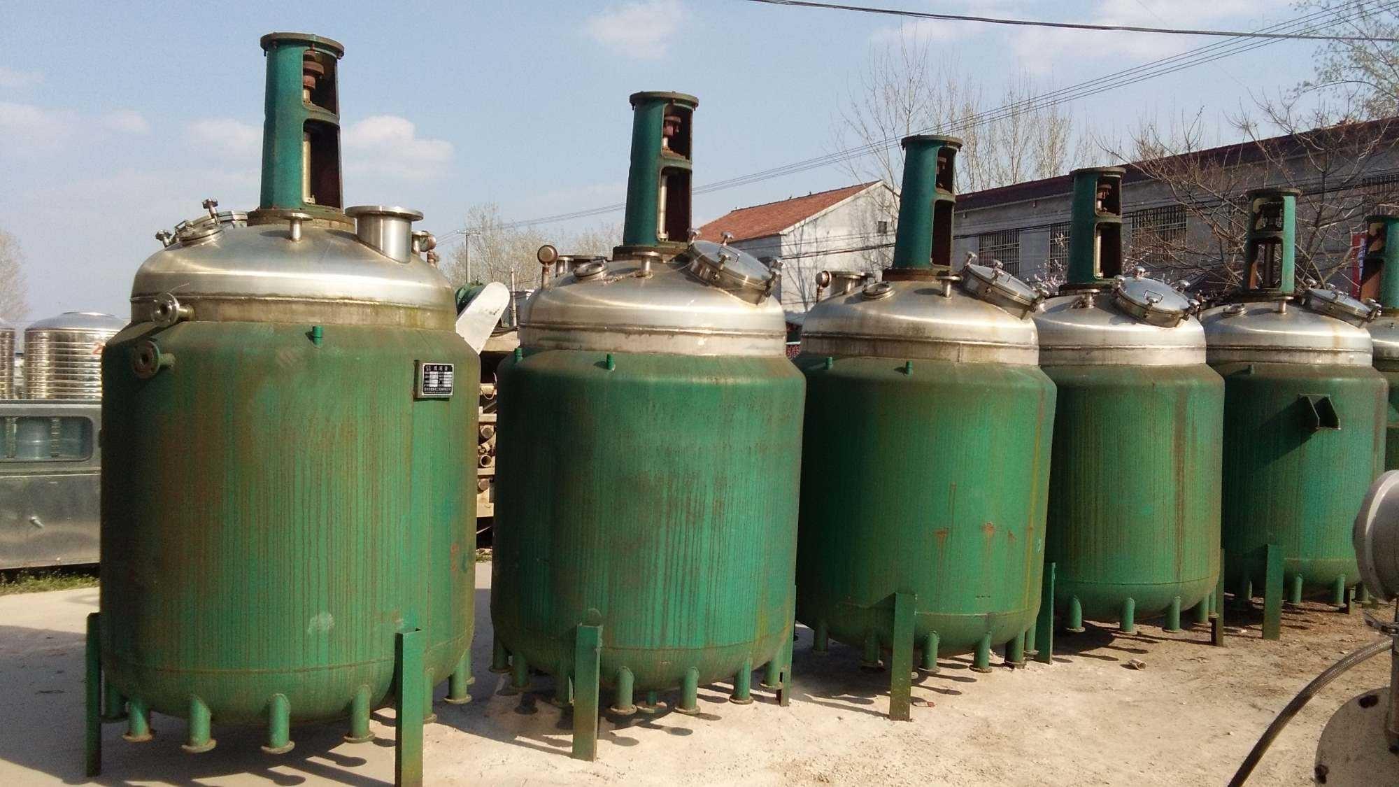长期供应二手不锈钢反应釜