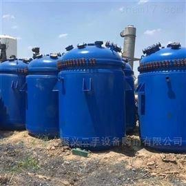 回收处理二手15吨搪瓷反应釜