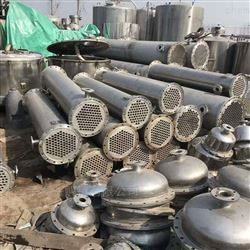 回收二手180平方列管冷凝器