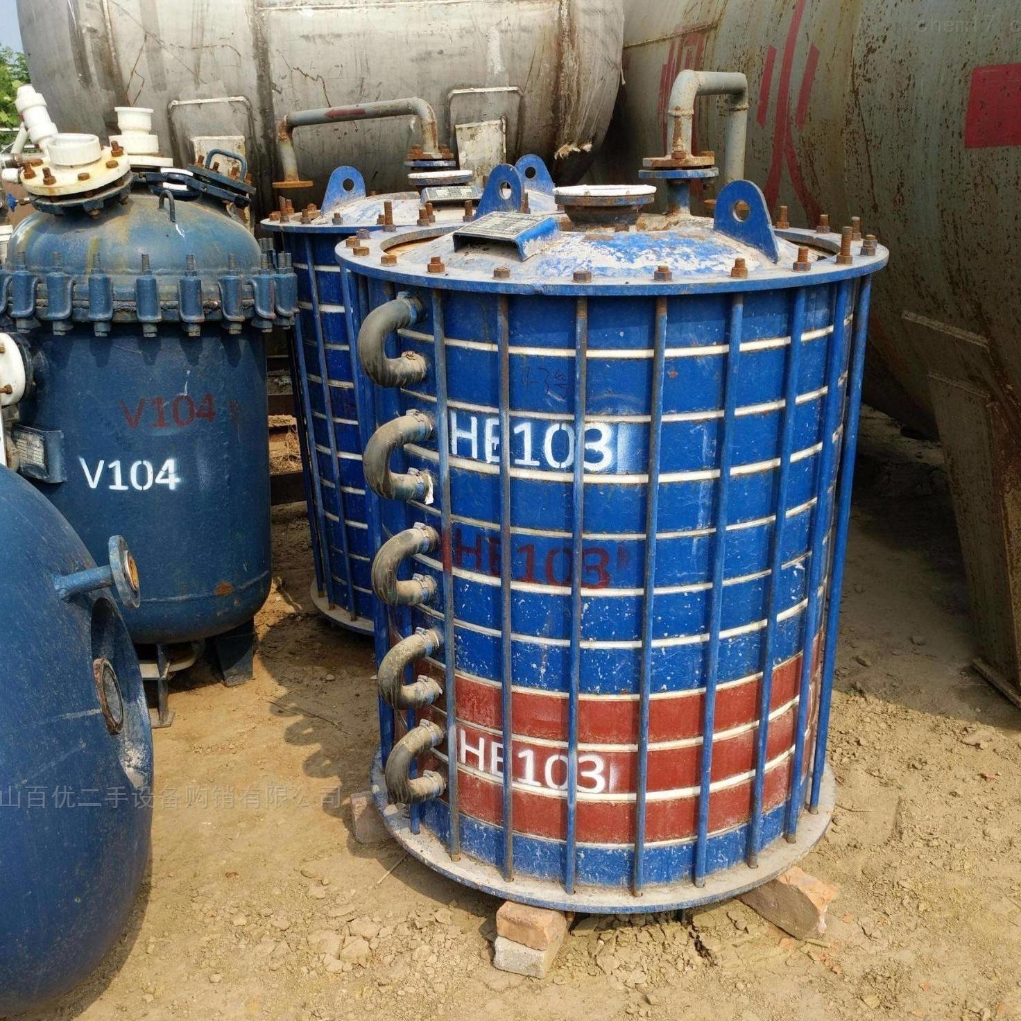 回收二手60平方列管冷凝器