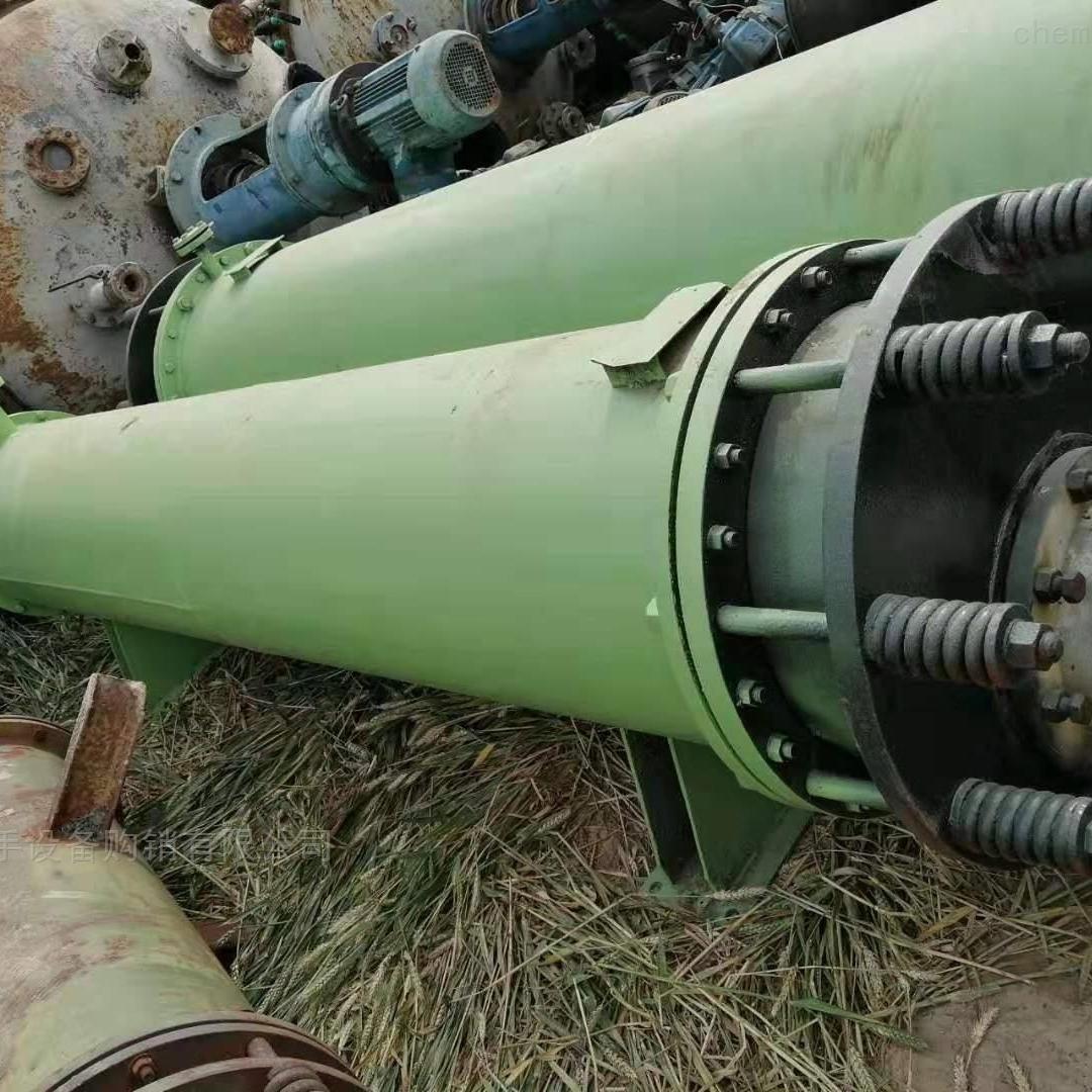回收二手250平方列管冷凝器