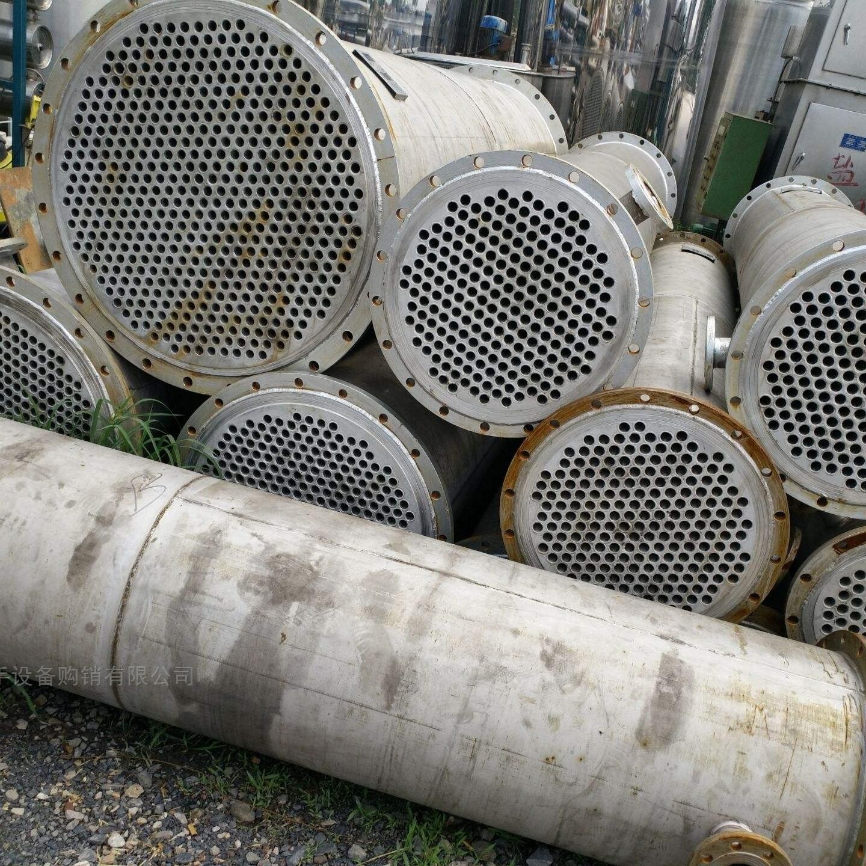 回收二手180平方板式换热器