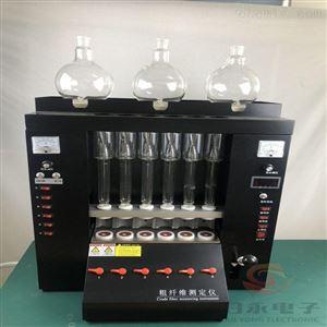 陶瓷加热6通道粗纤维检测仪厂家GY-CQW-6