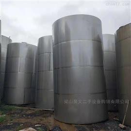 厂家回收二手50立方不锈钢储罐
