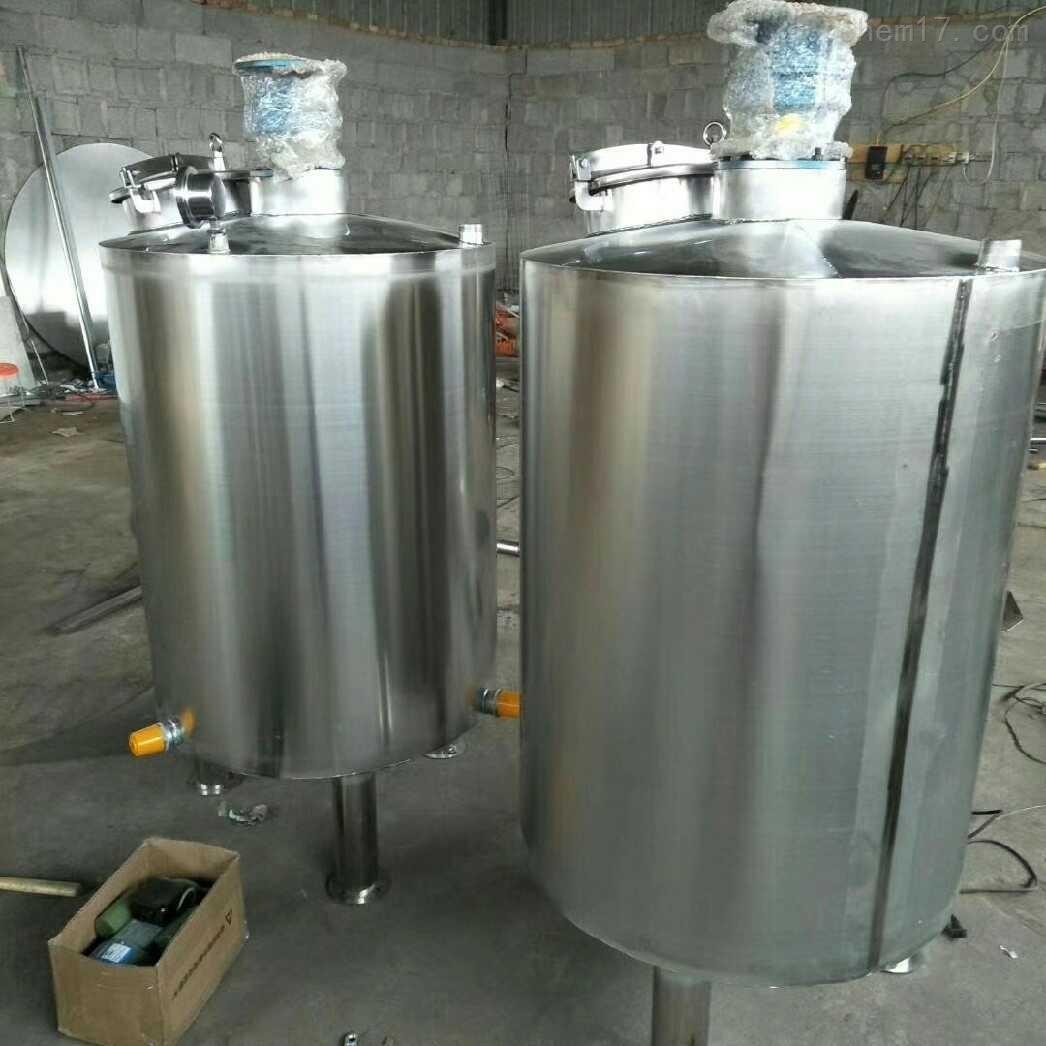供应二手500升不锈钢搅拌罐现货材质304