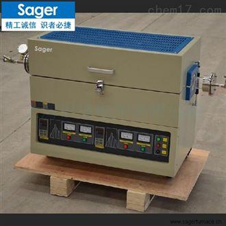 SG-GSM1200石墨烯多温区管式电炉碳材料真空管式炉