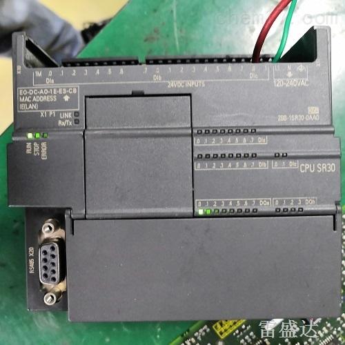 西门子PLC指示灯全不亮维修