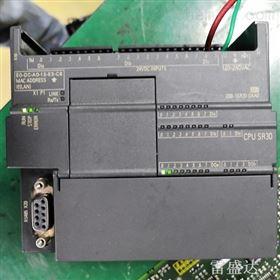 S7-300西门子PLC指示灯全不亮维修