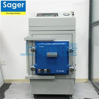 SG-QF1200高温气氛炉 真空电炉 氮气电炉