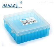 10*10孔 2ML样品瓶 色谱进样瓶架样品盒 带盖厂家直销可定制