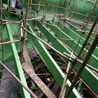 四川宜宾电厂烟道防腐玻璃鳞片胶泥