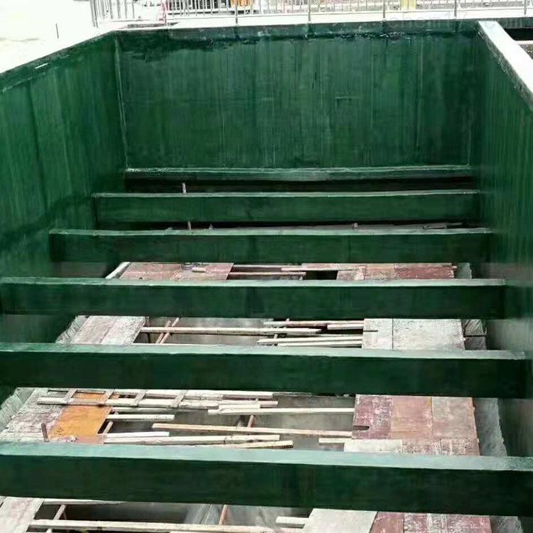 河北廊坊环氧玻璃鳞片胶泥污水池防腐