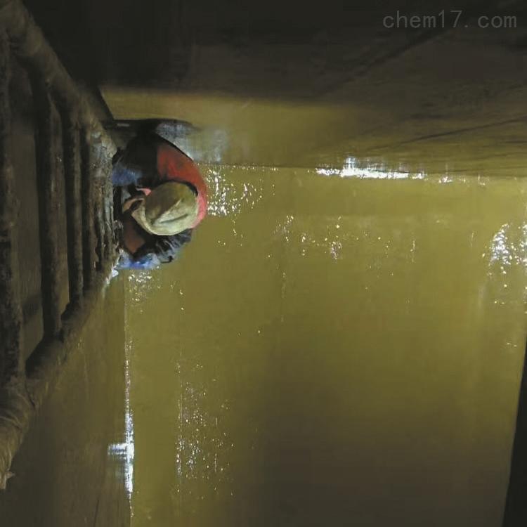 云南丽江耐酸碱玻璃鳞片胶泥污水池防腐