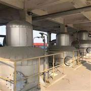 316L-10吨回收三效强制循环蒸发器一套