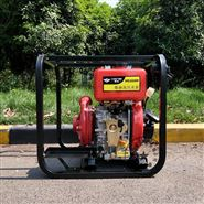 两寸口径小型便携式高压水泵柴油机发动机带