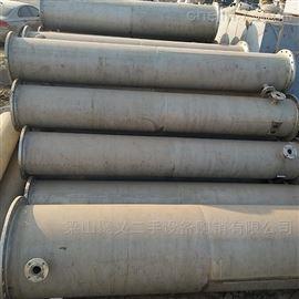 出售二手10-750平方不锈钢列管冷疑器价格