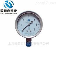 YZ-100BF上海毅碧自动化不锈钢压力表