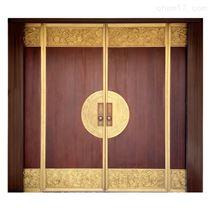 中式实木进户门
