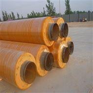 DN400石家庄钢套钢保温管的钢管壁厚