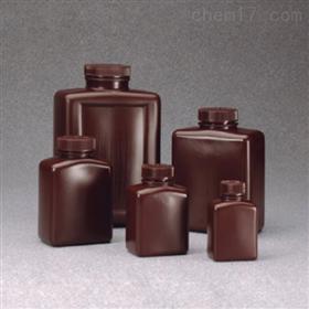 Nalgene 琥珀色高密度聚乙烯矩形瓶