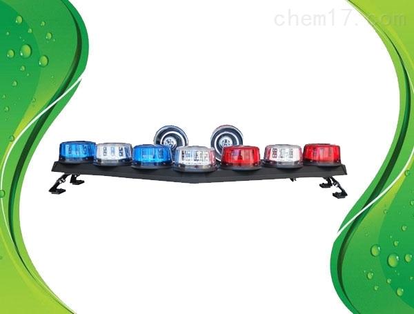 带字LED爆闪车顶红蓝警灯车载报警器警报器
