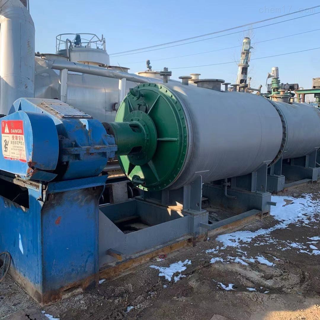 二手3000升316L不锈钢真空耙式干燥机