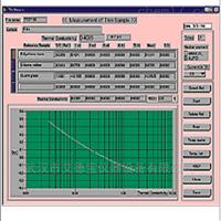 SOFT-QTM导热仪/热导仪-薄膜试样测定用软件