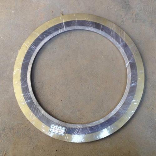 化工部標準304內外環金屬石墨纏繞墊定制