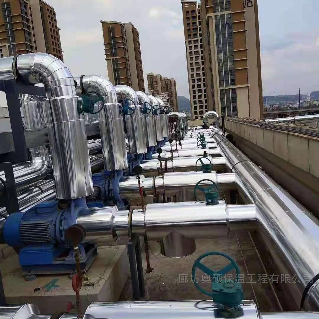 西安铝皮岩棉保温工程施工案例