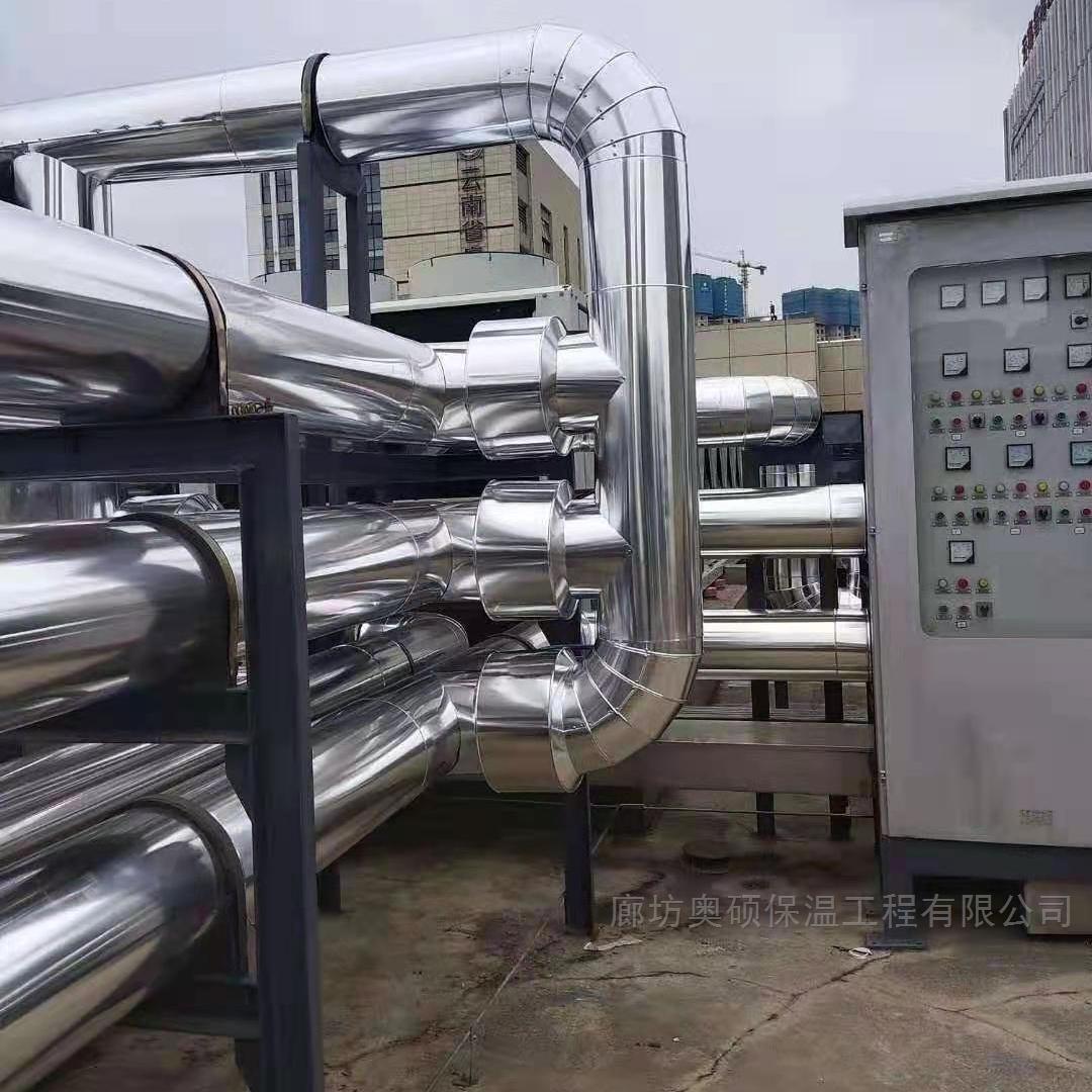烟台机房罐体铝板保温施工工程报价