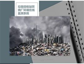 垃圾场垃圾回收站焚烧厂环境在线监测系统