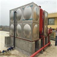 不锈钢304方形保温屋顶箱泵一体化水箱