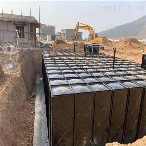 地埋一体化消防泵站预埋件安装