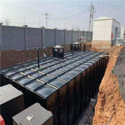 无焊接地埋一体化消防泵站怎么回填