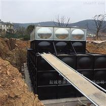 定制徐州地埋式箱泵一体化项目顺利交工