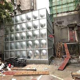 组合式不锈钢消防水箱安装步骤