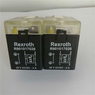 R901017026德国Rexroth力士乐插头-现货-电压24VAC/DC