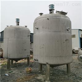 二手15吨不锈钢304电加热反应釜